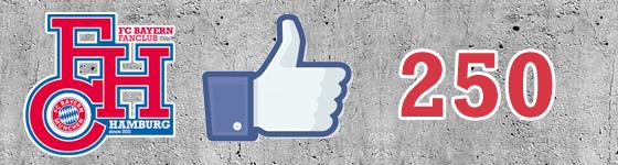 250 auf Facebook – Das ist amtlich!